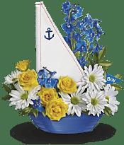 Ahoy It's A Boy Bouquet  Flowers