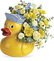 Teleflora's Lucky Ducky Bouquet Flowers