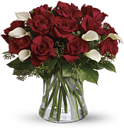 Be Still My Heart - Dozen Red Roses Flowers