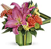 Teleflora's Color Me Cute Bouquet Flowers