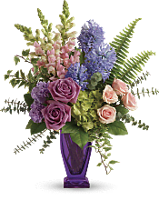 Painterly Pastels Bouquet Flowers