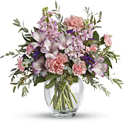 Pretty Pastel Bouquet Flowers
