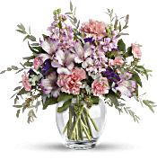 Teleflora's Pretty Pastel Bouquet Flowers