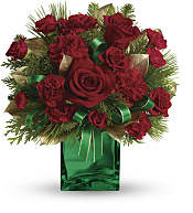 Yuletide Spirit Bouquet Flowers