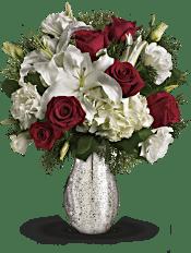 A Christmas Kiss by Teleflora Flowers