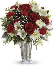 Timeless Cheer Bouquet Flowers