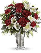 Teleflora's Timeless Cheer Bouquet Flowers