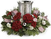 Holly Jolly Centerpiece Flowers