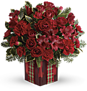 Season's Surprise Bouquet by Teleflora Flowers