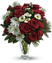 Teleflora's Winter Kisses Bouquet Flowers