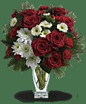 Teleflora's Winter Kisses Bouquet Flowers