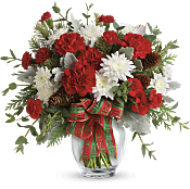 Holiday Shine Bouquet Flowers