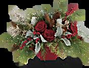 Winter Blooms Centerpiece Flowers