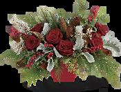 Winter Blooms Centerpiece DX Flowers