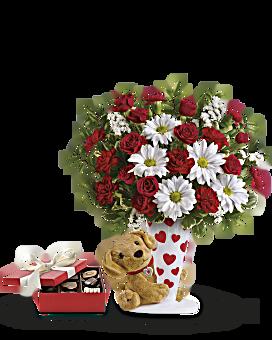 Bouquet Ensemble je t'aime d'Envoyez un câlinMD