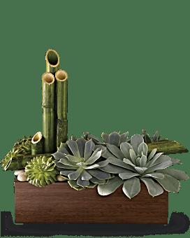 Arrangement floral Jardin zen paisible de Teleflora