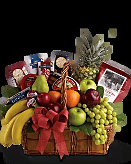 Bon Vivant Gourmet Basket Gift Basket