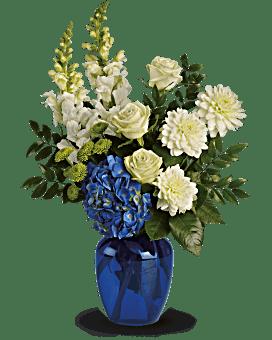 Bouquet Dévotion océanique