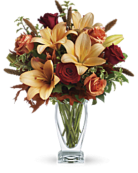 Bouquet Folie automnale de Teleflora