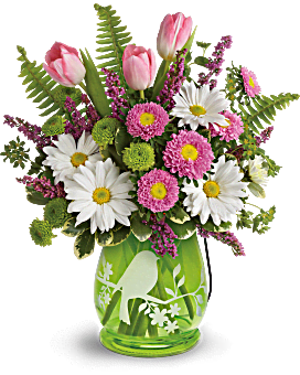 Teleflora's Songs Of Spring Bouquet Bouquet