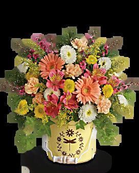 Teleflora's Country Spring Bouquet Bouquet