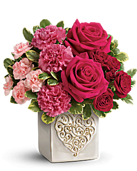 Teleflora's Swirling Heart Bouquet Bouquet