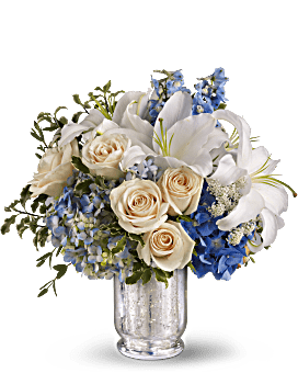 Teleflora's Seaside Centerpiece Bouquet