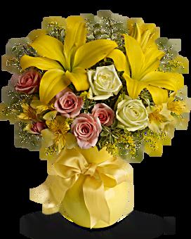 Bouquet Rayons de soleil de Teleflora