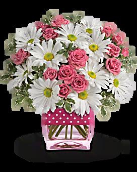 Bouquet Petits pois et marguerites de Teleflora