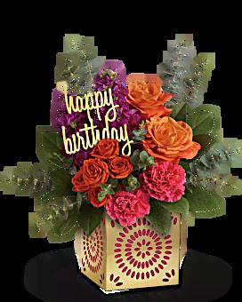 Étincelle bouquet d'anniversaire de de Teleflora