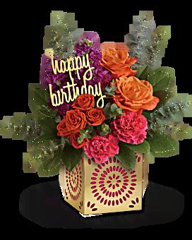 Étincelle bouquet d'anniversaire de Teleflora