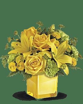 Teleflora's Sunny Mood Bouquet Bouquet
