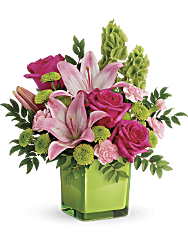 in love with lime bouquet bouquet - Flowers