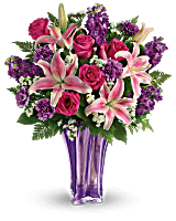 Bouquet Lavande luxueuse de Teleflora