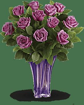 Bouquet Splendeur lavande de Teleflora