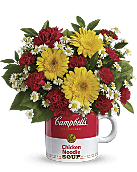 Amazing Campbellu0027s® Healthy Wishes By Teleflora Bouquet