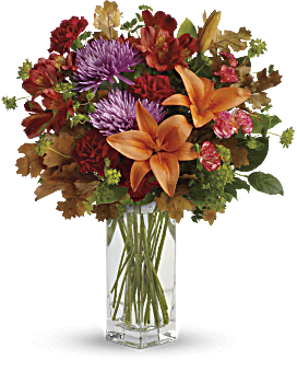 Teleflora's Fall Brights Bouquet Bouquet