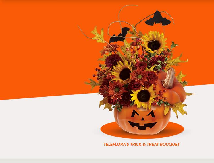 Teleflora's Trick & Treat Bouquet