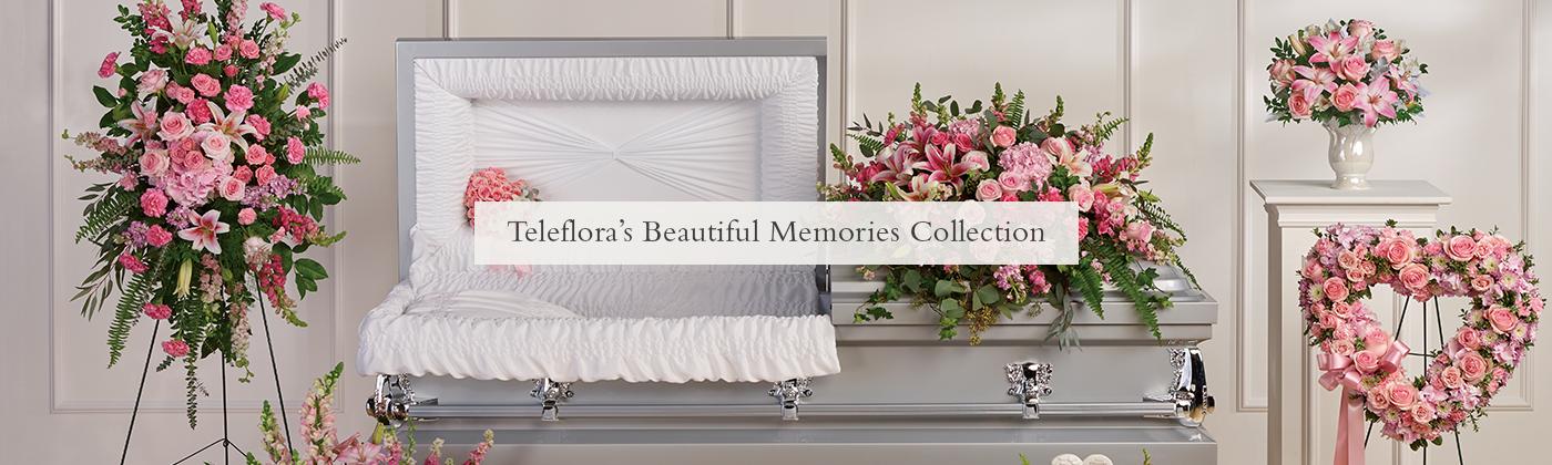 Belle collection de mémoires de de Teleflora