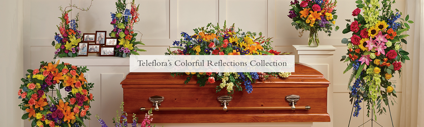 Teleflora's Colorful Reflections Collection