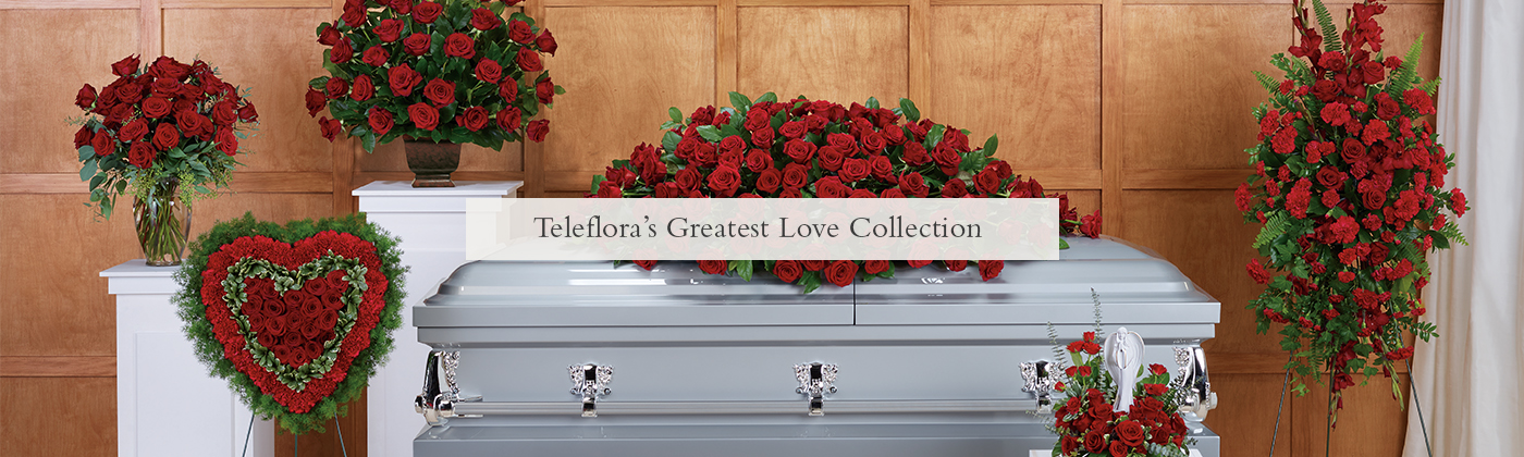 La plus grande collection de l'amour de Teleflora