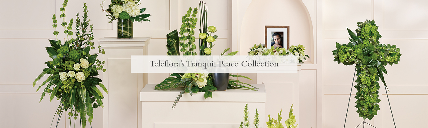 Collection Paix tranquille de Teleflora