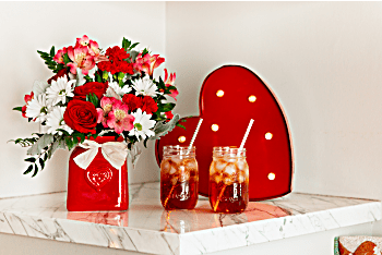 Amoureux bouquet de pays de de Teleflora