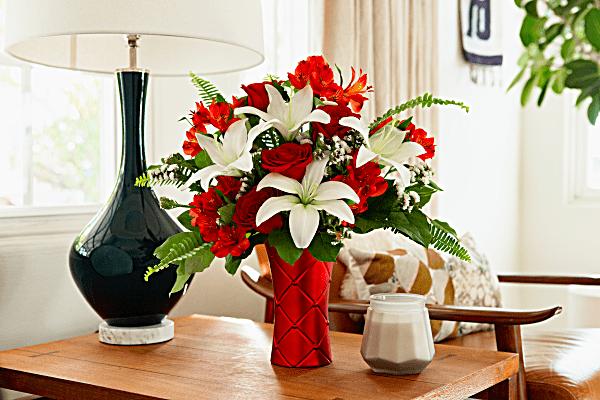 Le satin le plus doux bouquet de de Teleflora