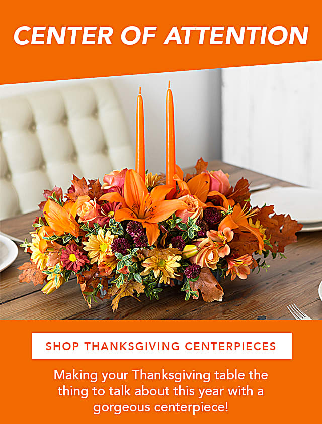 Shop Thanksgiving Centerpieces