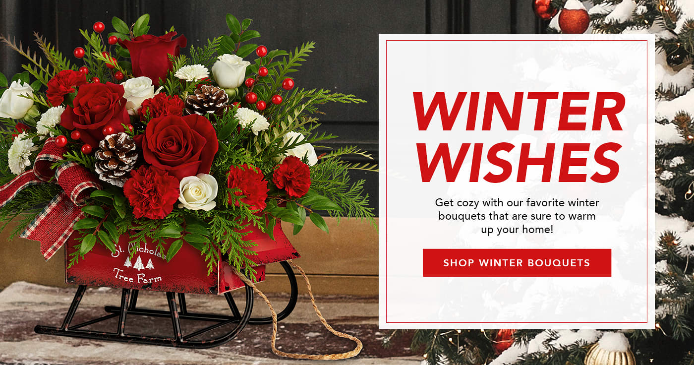 Shop Flowers for Christmas