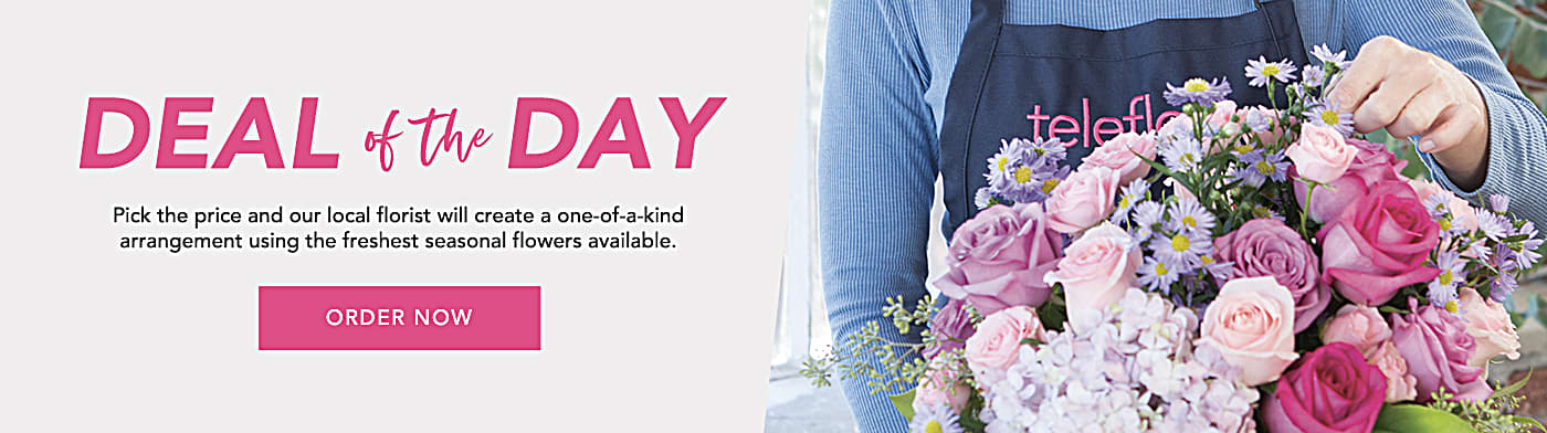 Deal of the Day - Seasonal fresh flowers at a special price