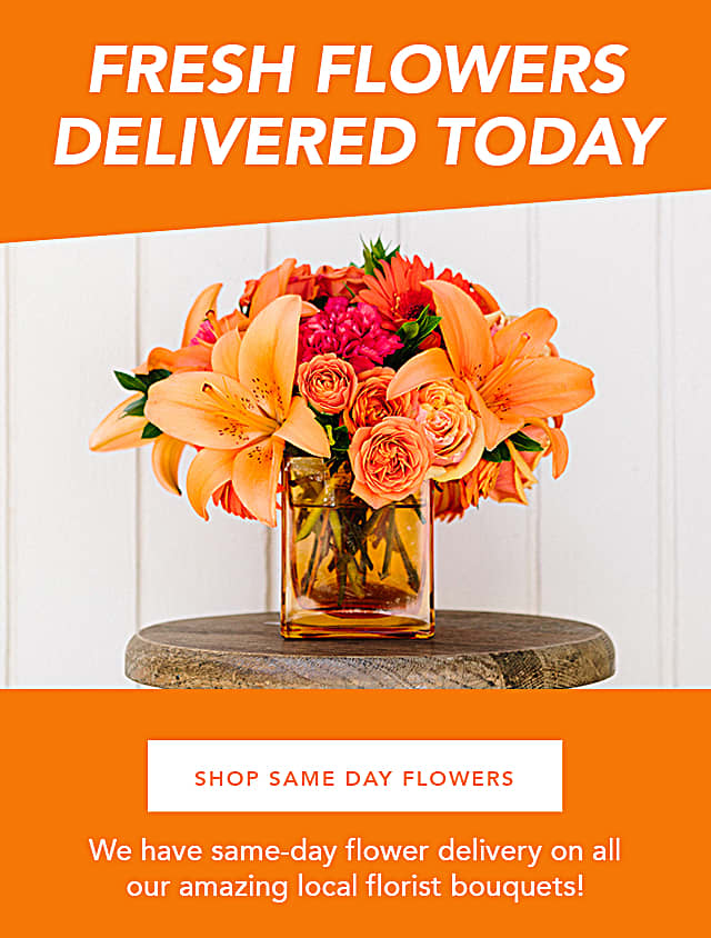 Shop Same Day Flowers
