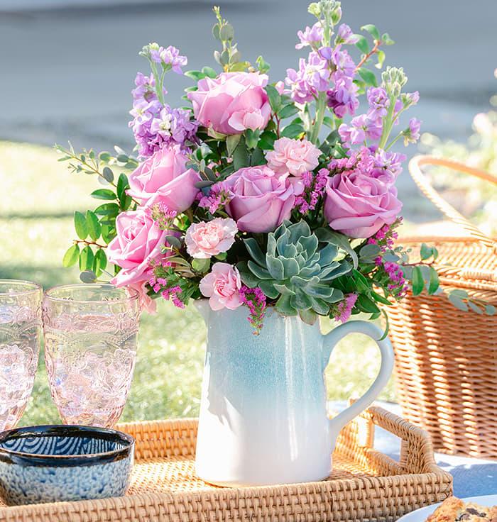 Bouquets du magasin fête des Mères