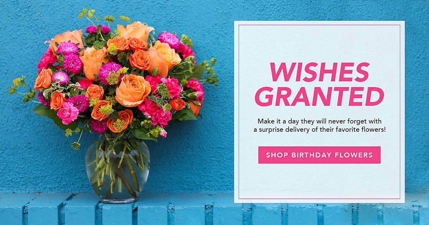 Shop Birthday Flowers